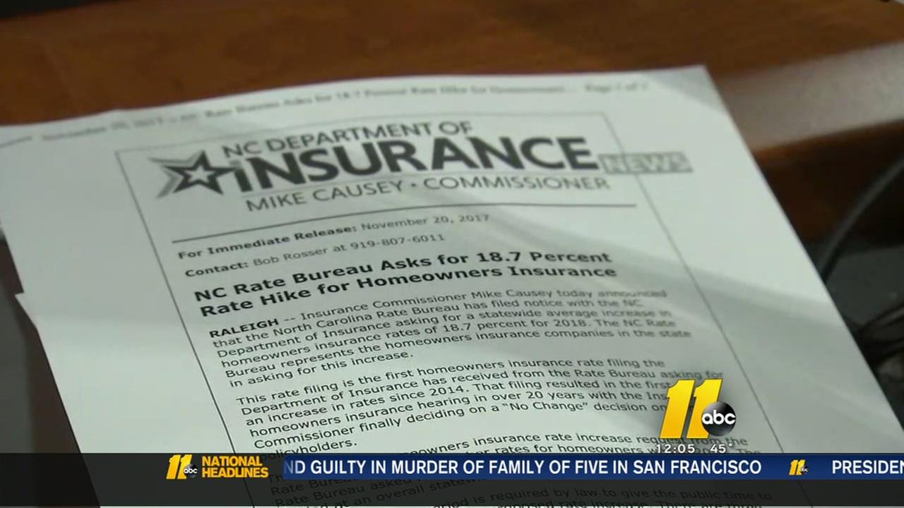 Give your input on proposed homeowners insurance increase