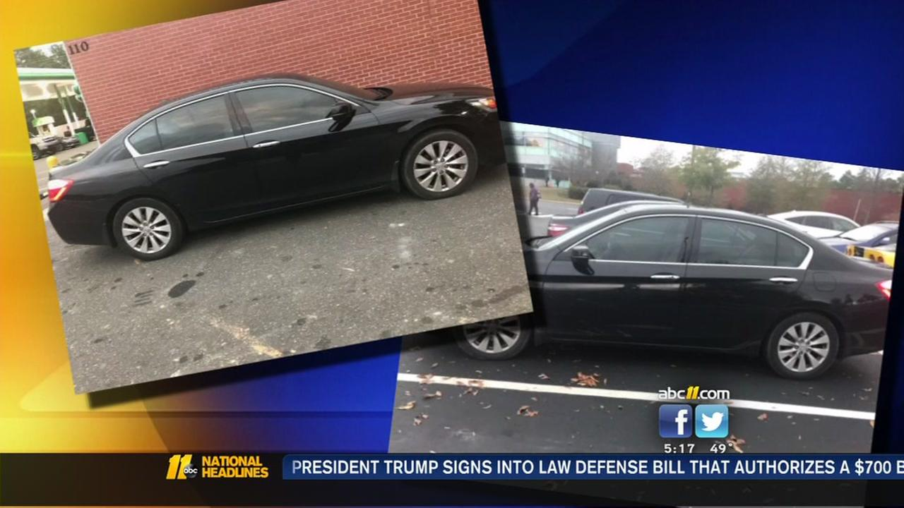 Raleigh woman's car stolen while warming it up in the morning