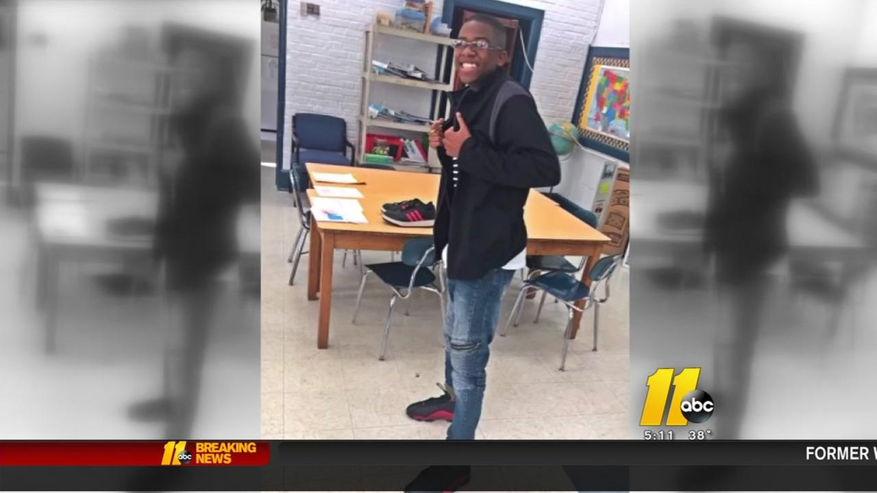 Goldsboro teacher gifts special needs student his pair of Jordans