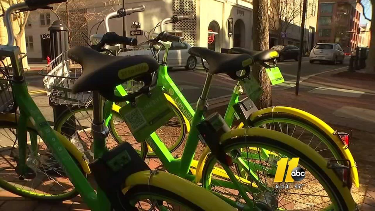 Bike sharing companies create bicycle wars in Durham
