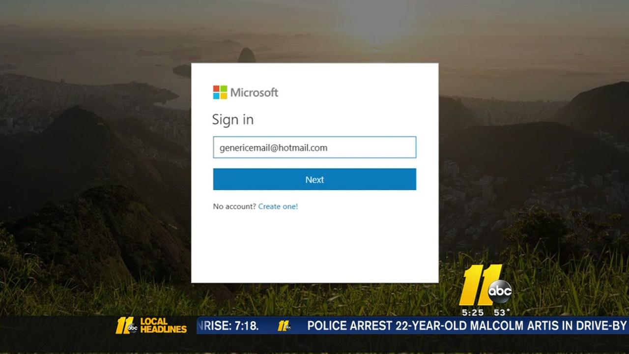 Email scam targeting Hotmail users
