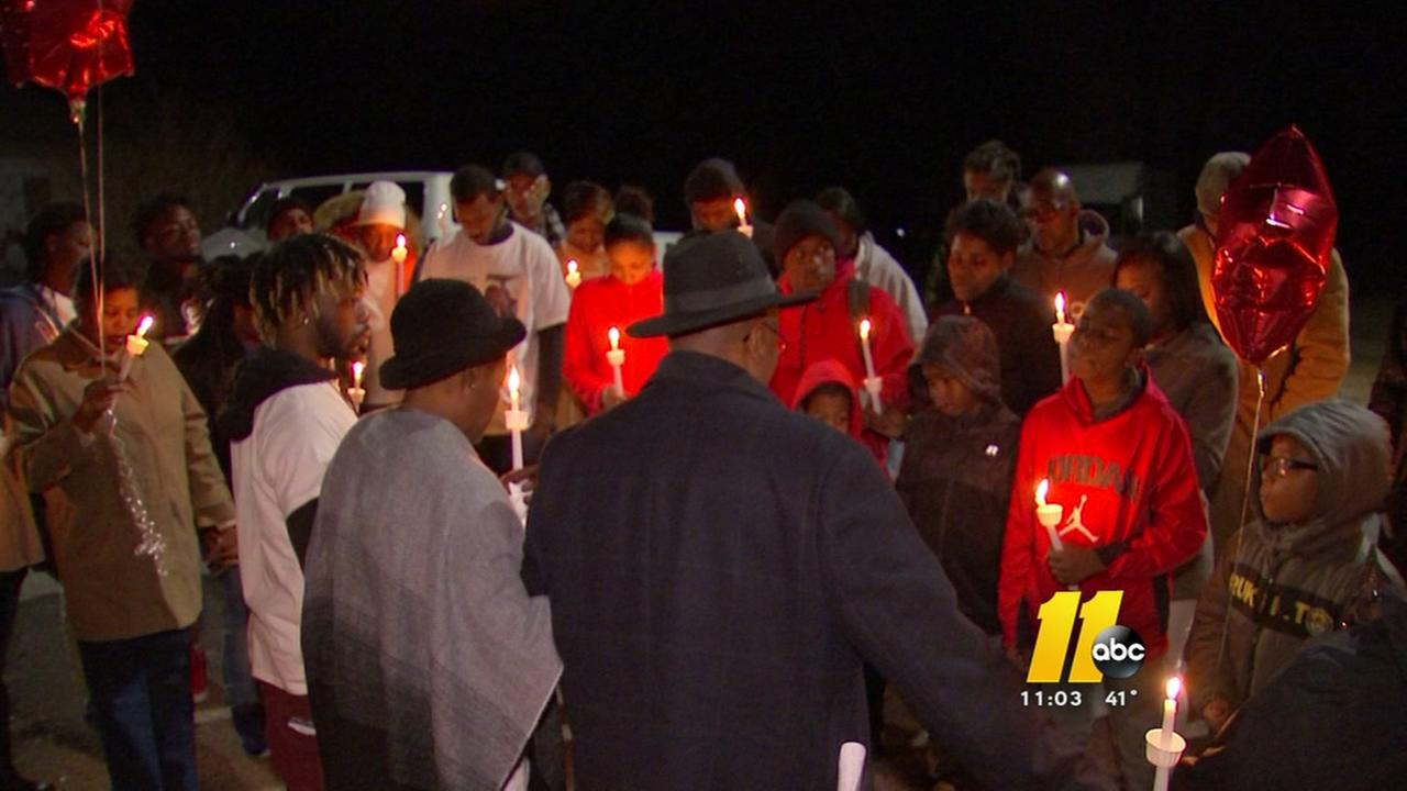 Families of murder victims come together in vigil and in prayer to search for answers