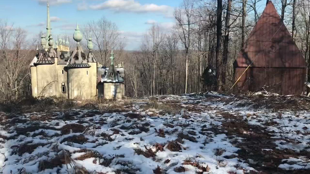 Hidden Triangle:  Abandon castle offers taste of Russia