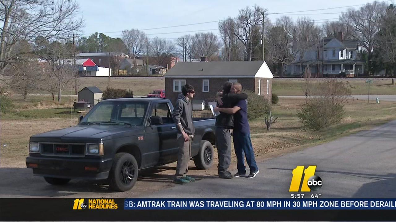 ABC11 viewers give truck to a Youngsville father in need