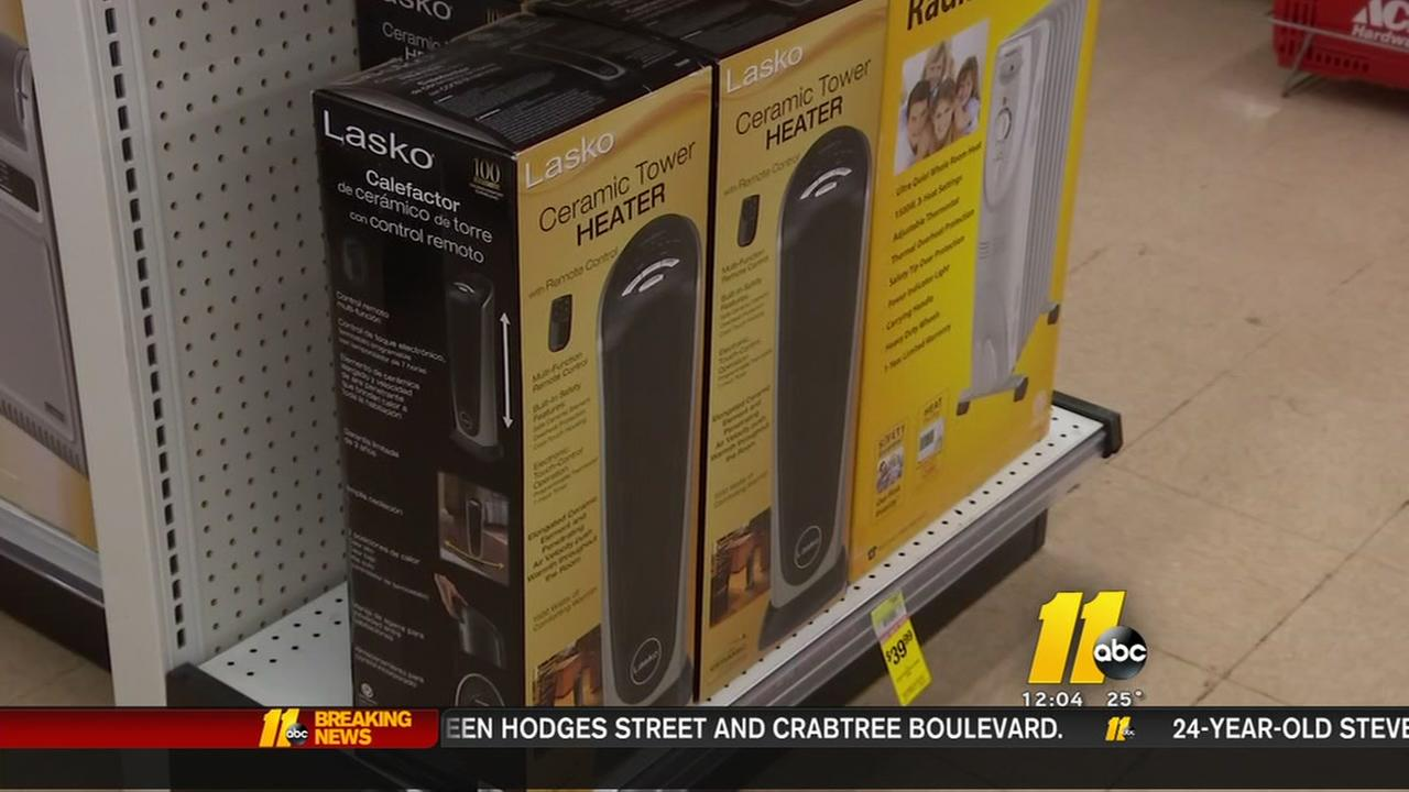 Raleigh organization hopes to collect 300 heaters for those in need