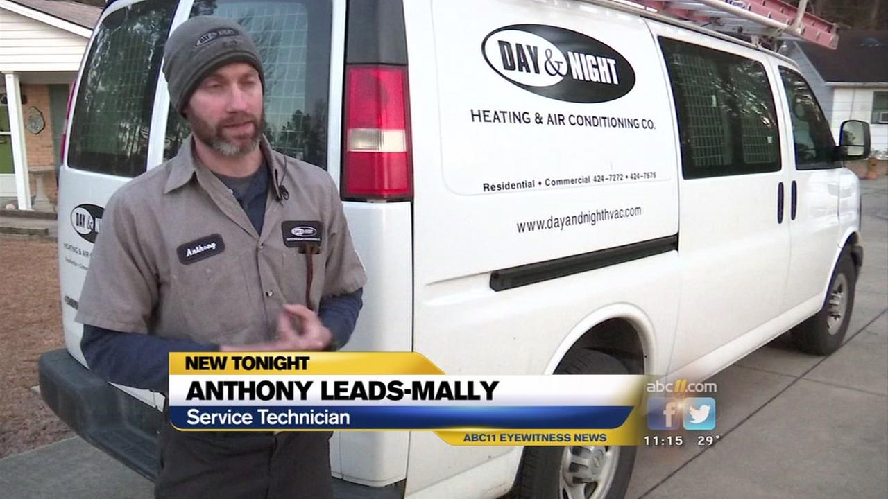 HVAC calls heat up as temperatures go down