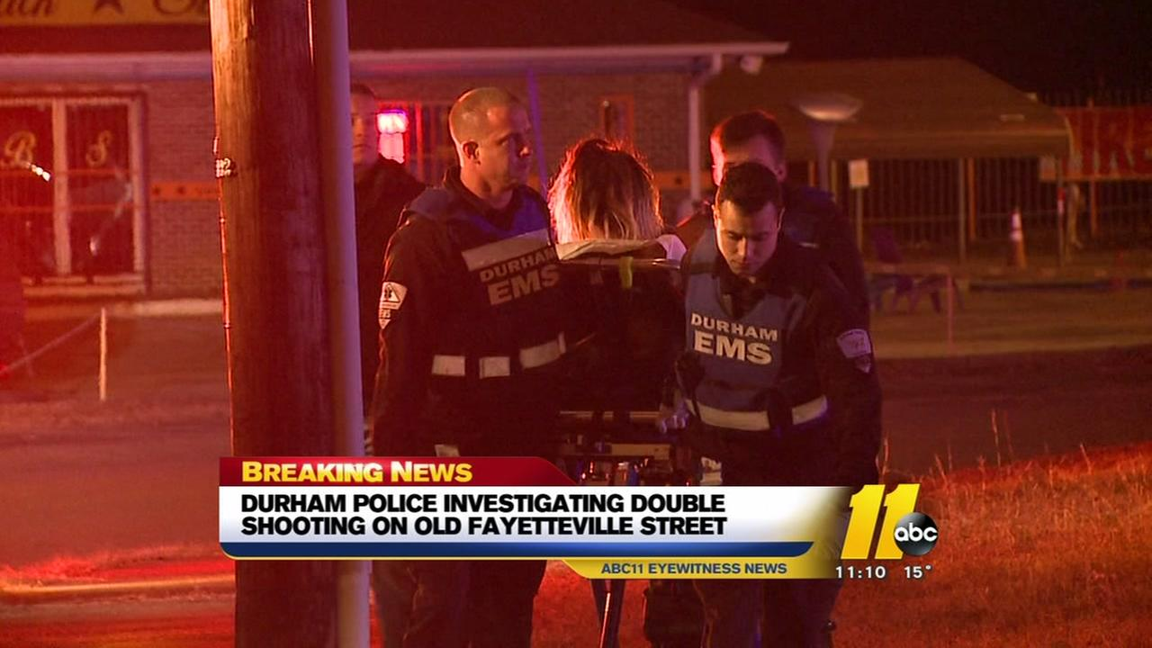 Durham Police investigate double shooting