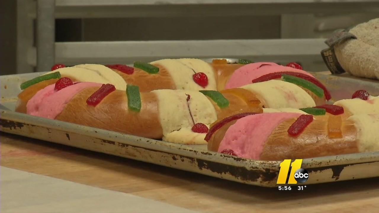 Bakery rushes to bake thousands of King Cakes