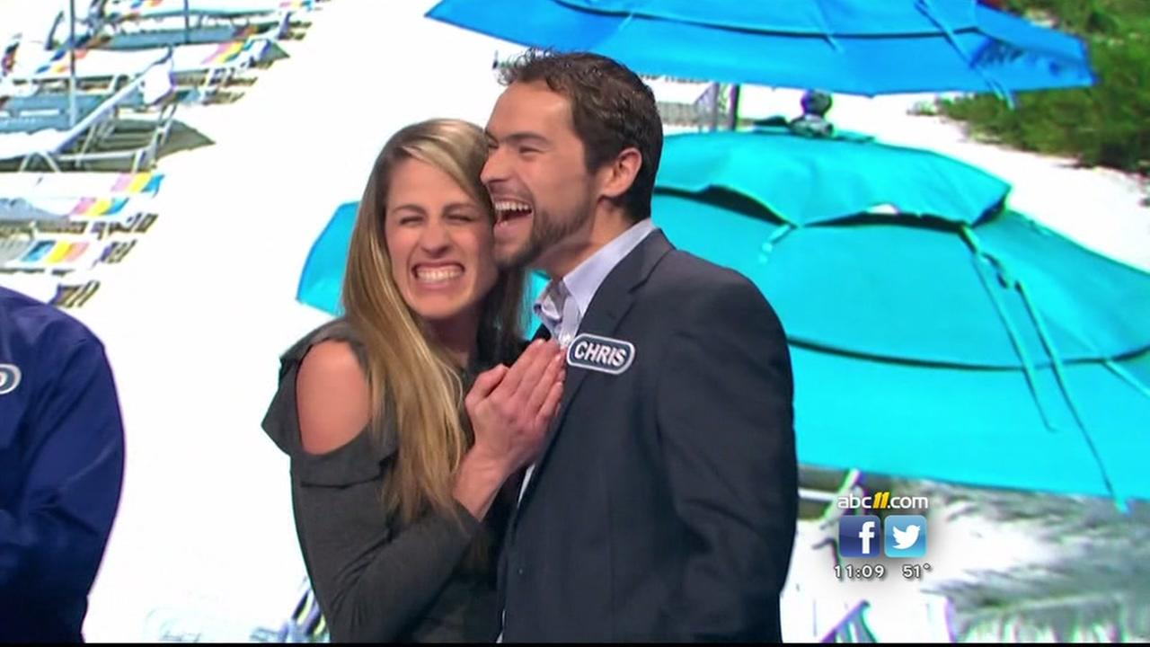 Raleigh family wins big on Wheel of Fortune!