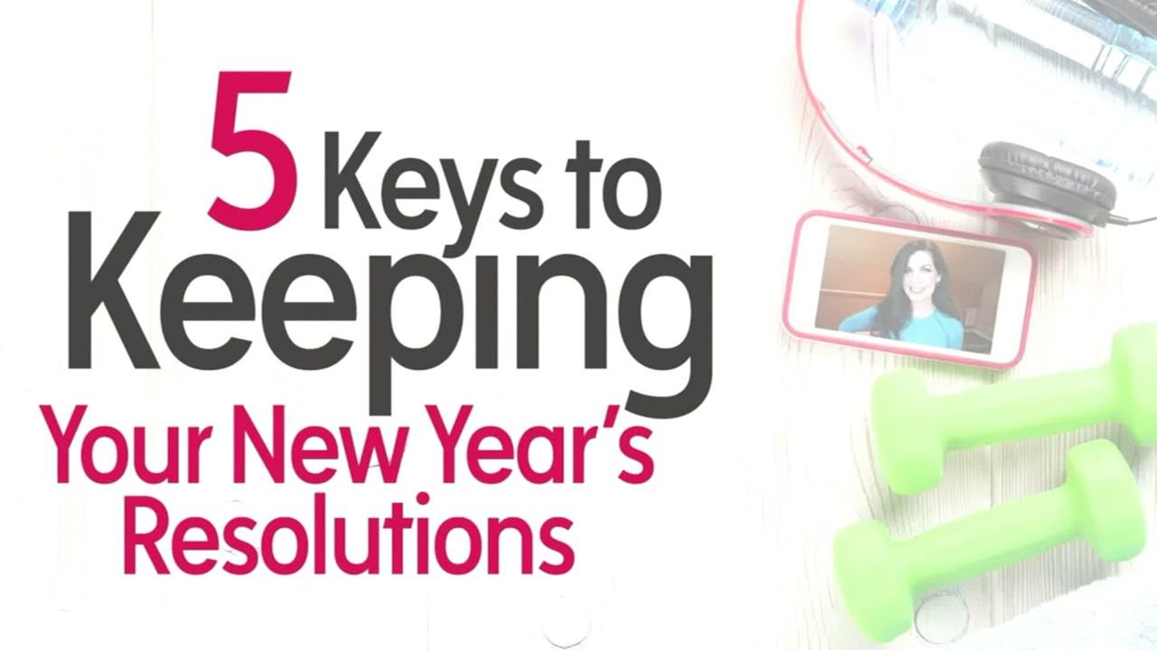 Keys to keeping New Years resolutions