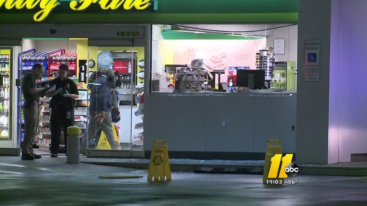 Child shot at Durham gas station