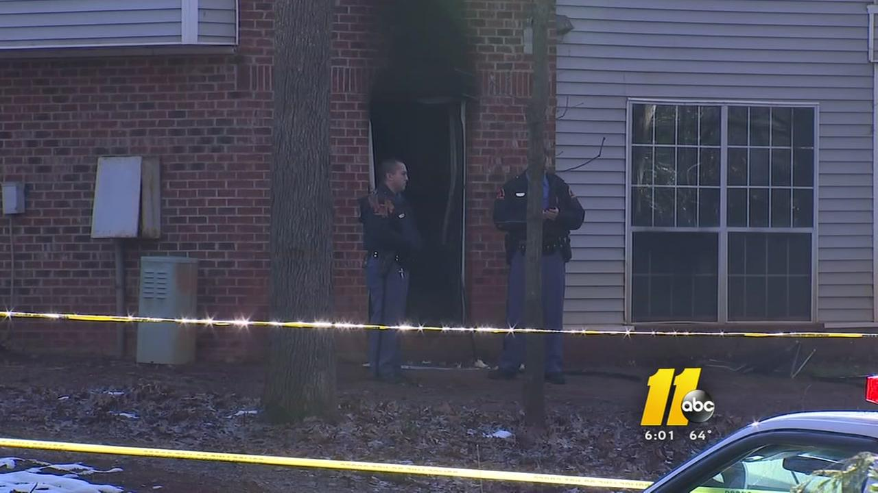 Officials: Man, 2 dogs found dead after Raleigh apartment fire