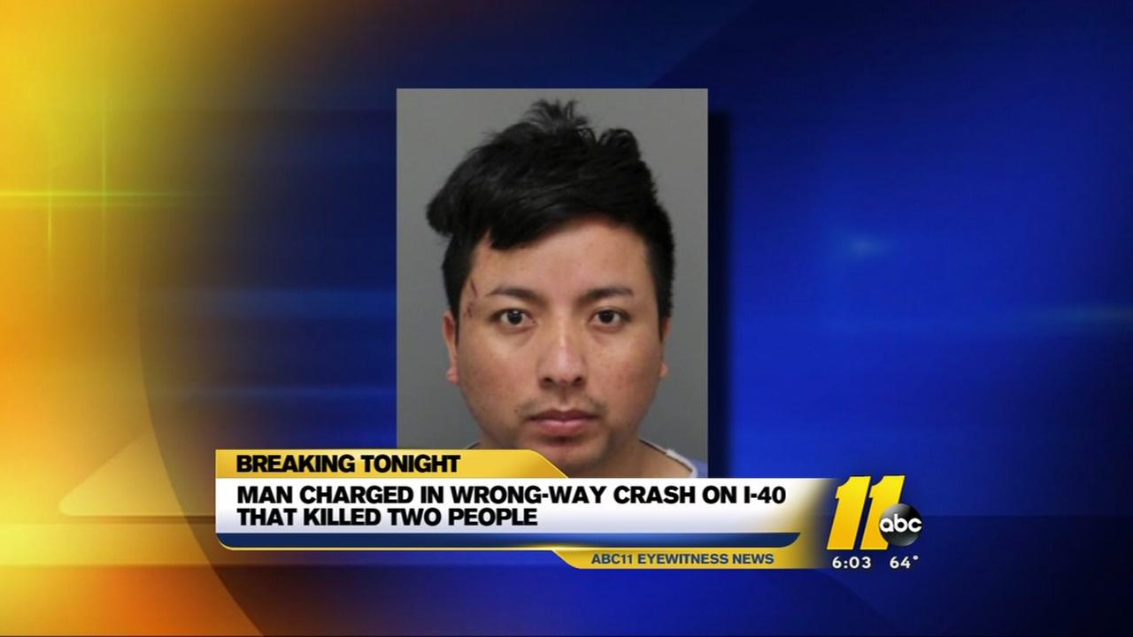 Man charged with DWI after deadly I-40 crash in Raleigh