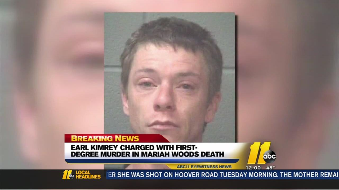 Mothers boyfriend charged with murder in Mariah Woods death