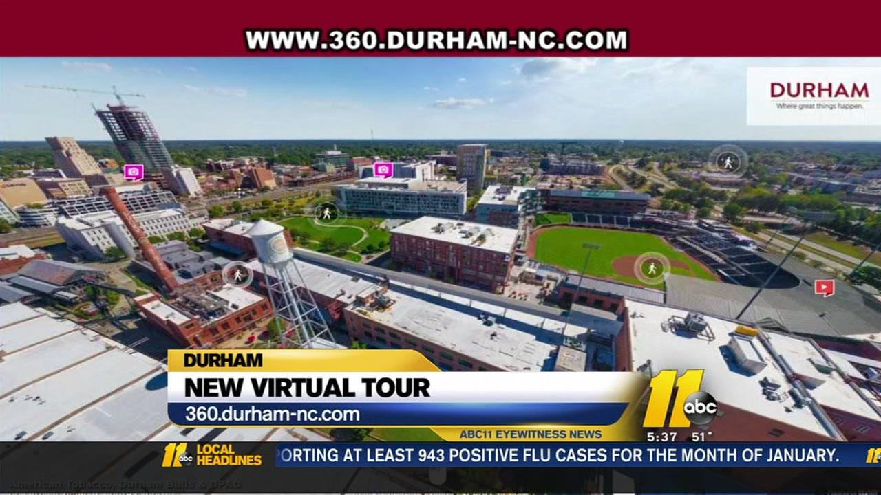 Take a new virtual tour of Durham