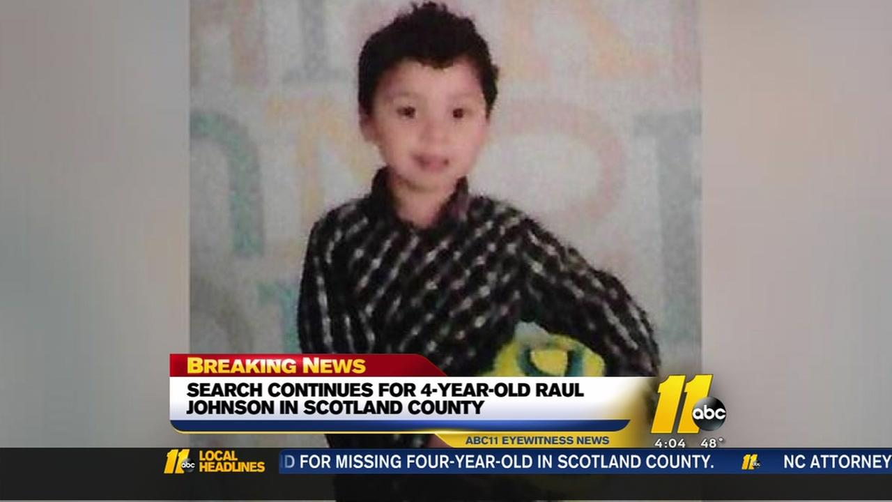 Search continues for missing Scotland County boy
