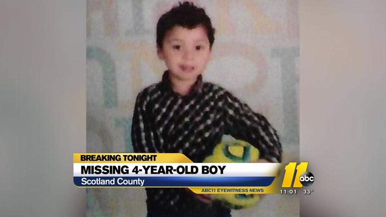 Search turns investigative for 4-year-old boy