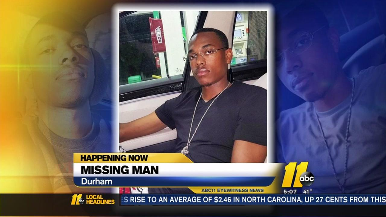 Durham Police look for missing man
