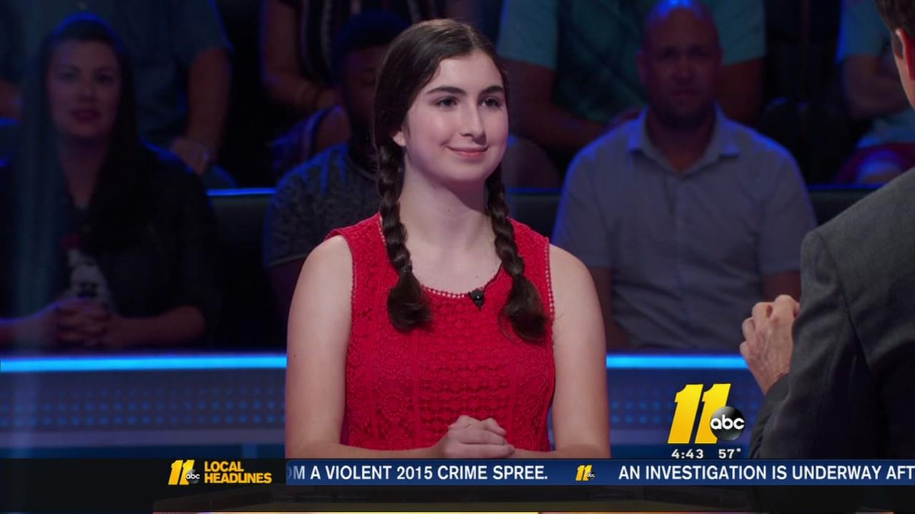Raleigh girl appears on Millionaire