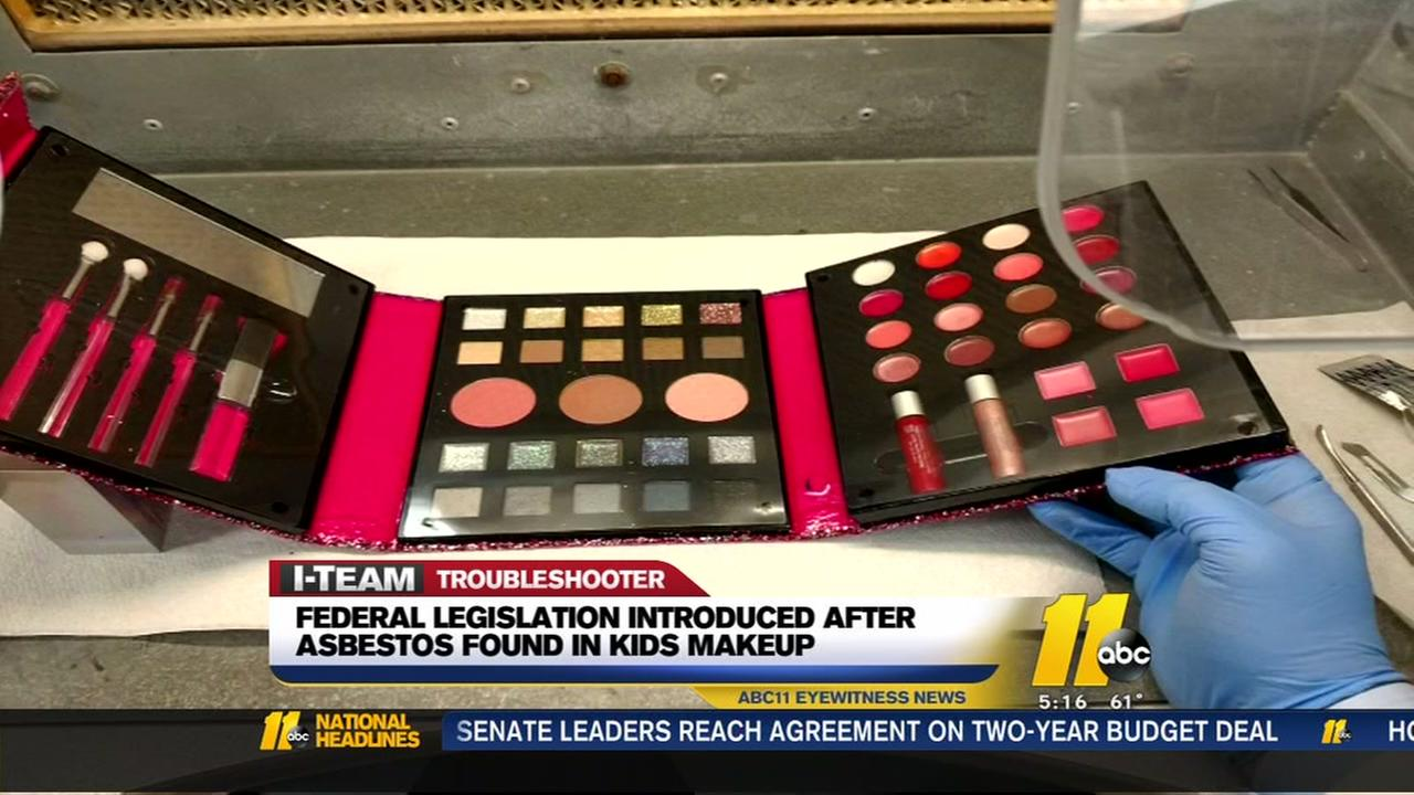 Legislation introduced after Troubleshooter report in kids makeup