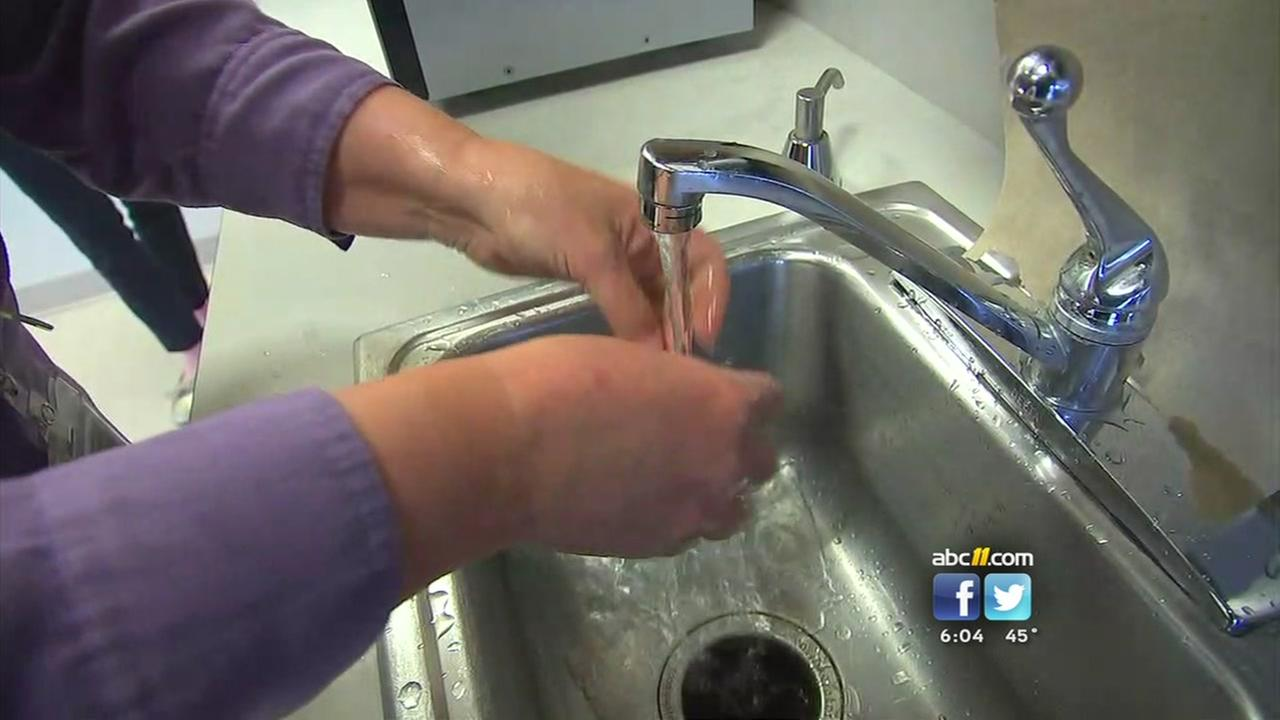 Properly washing hands a key to flu prevention