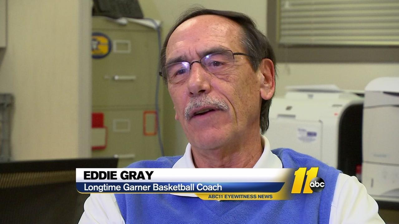 Longtime Garner basketball coach Gray shifting gears