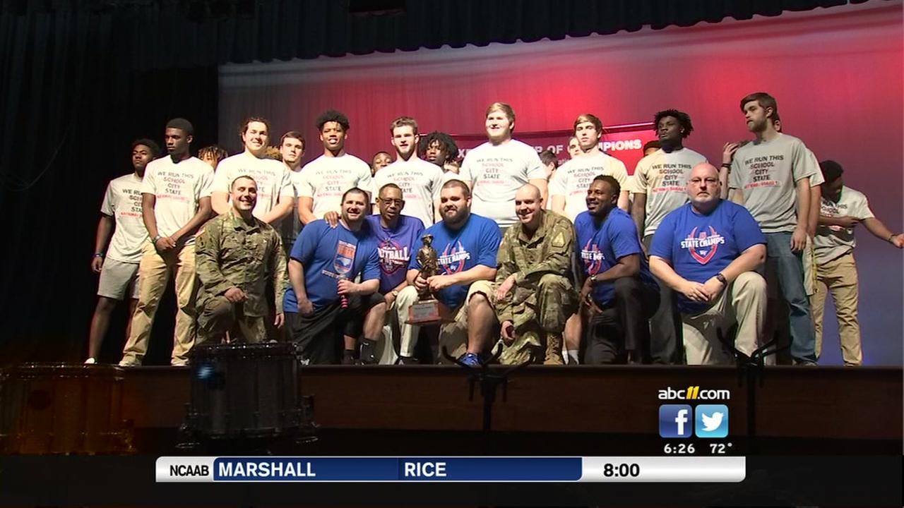 WFHS honored for their football state championship win