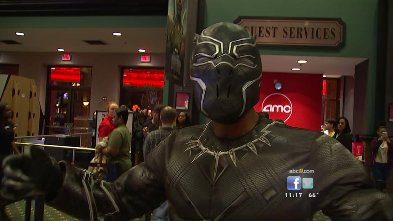 Fans pumped for Black Panther