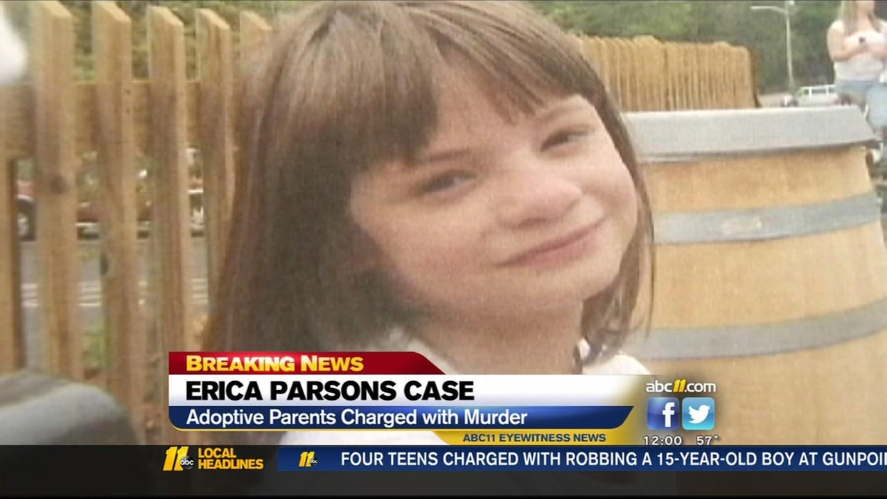 Adoptive parents charged with murder in death of Rowan County girl