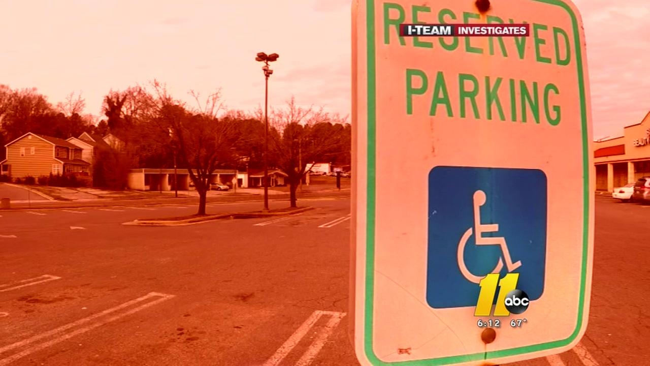 Growth putting squeeze on van-accessible parking
