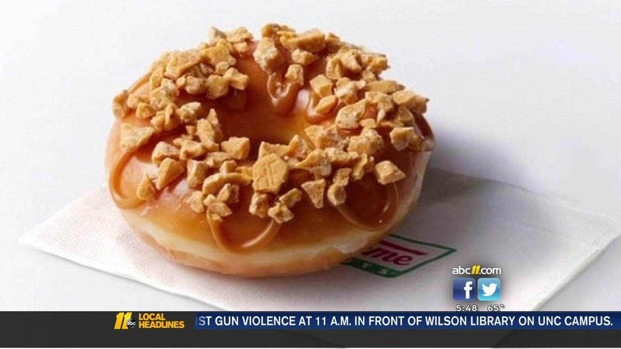 Going for the gold: Krispy Kreme introduces new Hersheys Gold Doughnut