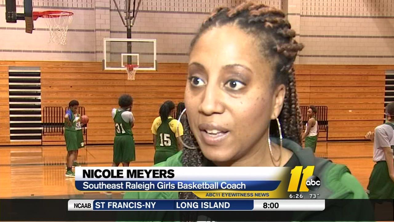 Southeast Raleigh girls have eye on the title