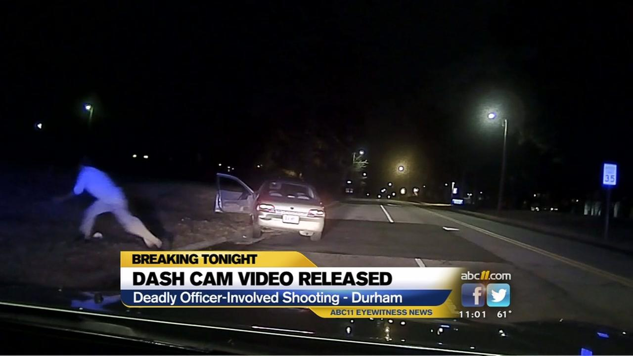 Dash-cam video released of deadly Durham officer-involved shooting