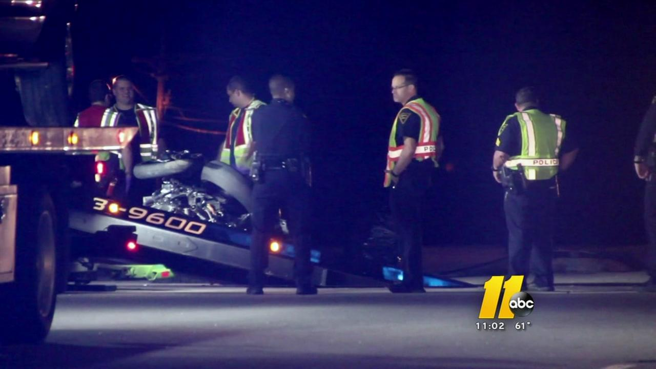 Motorcyclist killed in Fayetteville crash