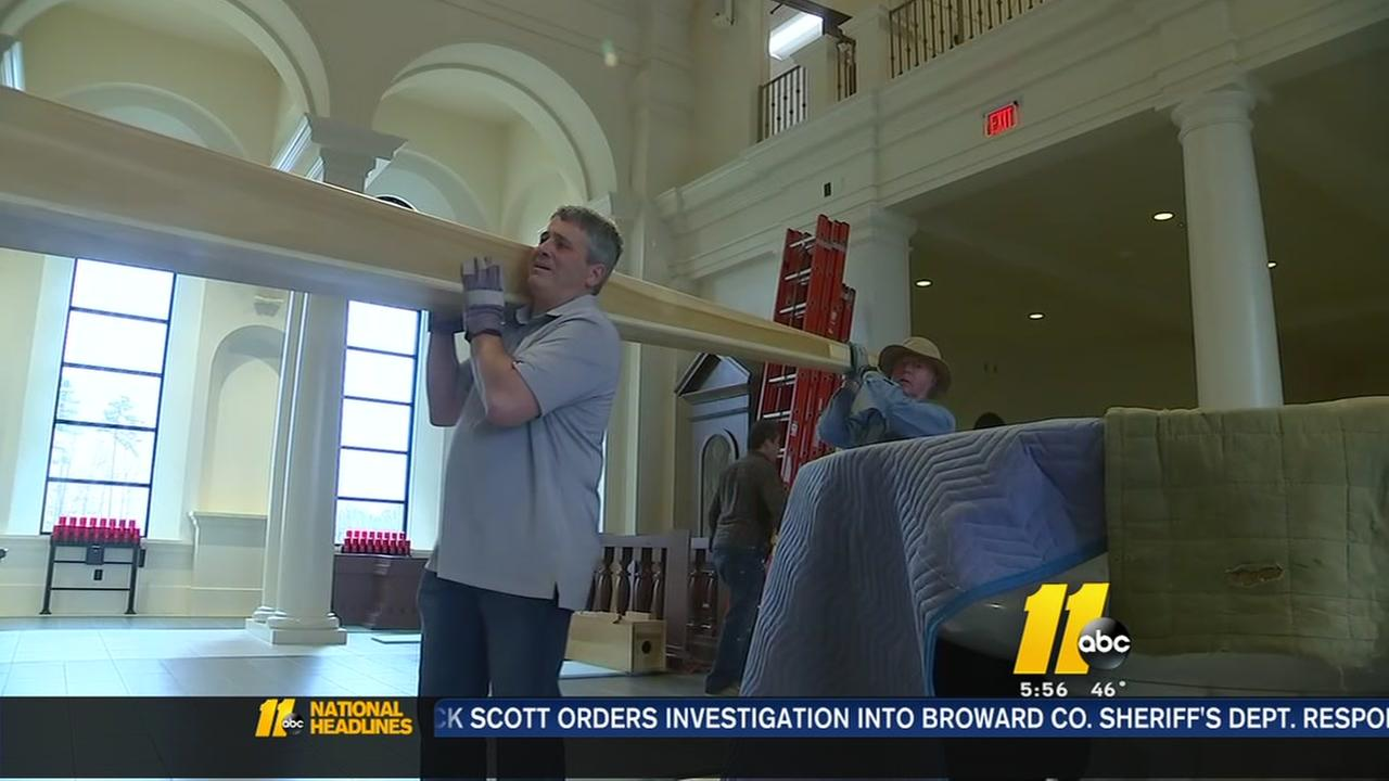 Construction begins on massive pipe organ