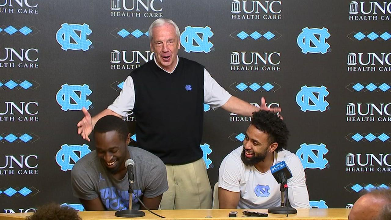 Roy Williams interrupts Pinson-Berry news conference