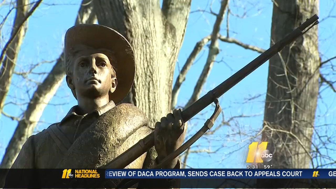 Letter claims 17 UNC professors to remove Silent Sam statue by Thursday