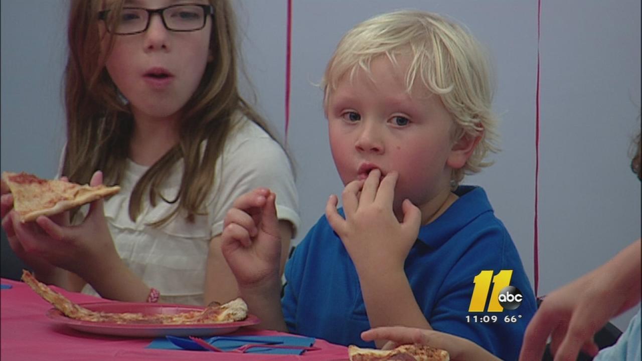 Local boy helps raise money for sick infant