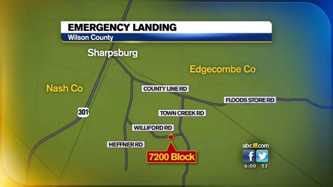 Small plane makes emergency landing in Wilson County