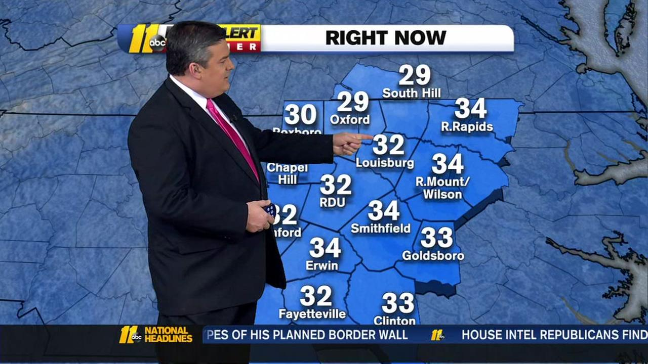 Snow has moved along, now when will we warm up?