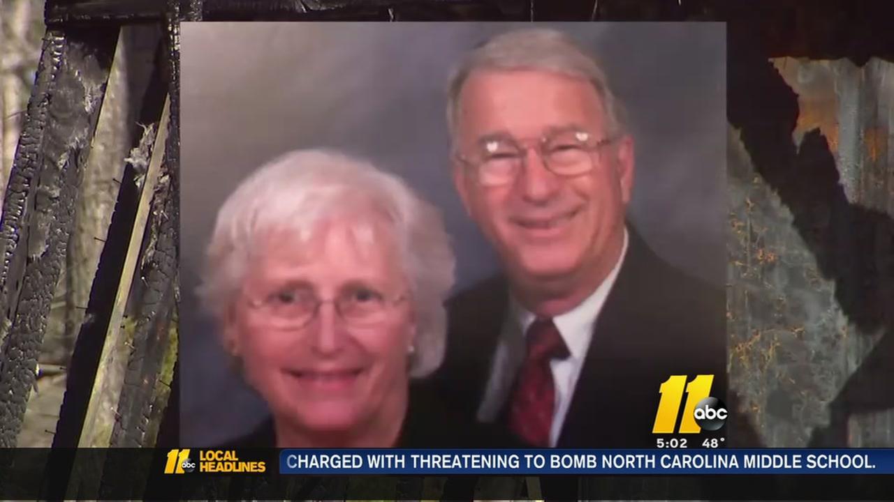 Elderly wife killed, husband severely burned in violent home invasion