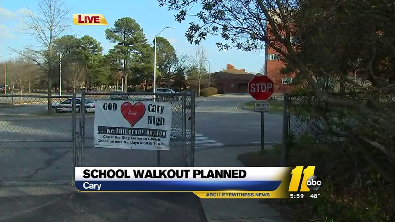 School walkouts planned Wednesday