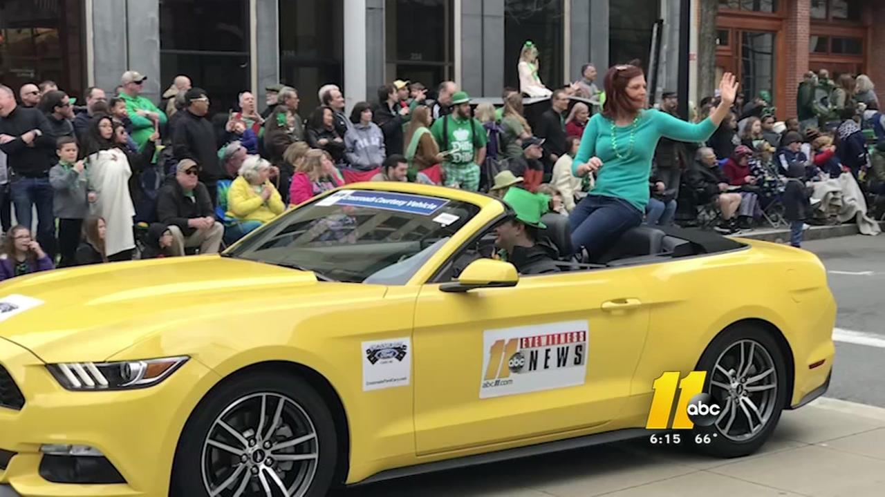 St. Patricks Day Parade draws thousands to downtown Raleigh