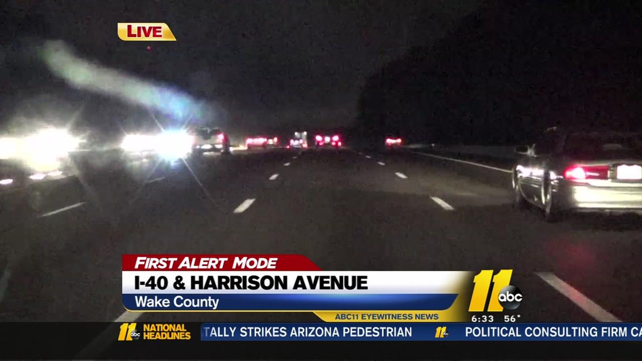 Low visibility, wet roads slow morning commute