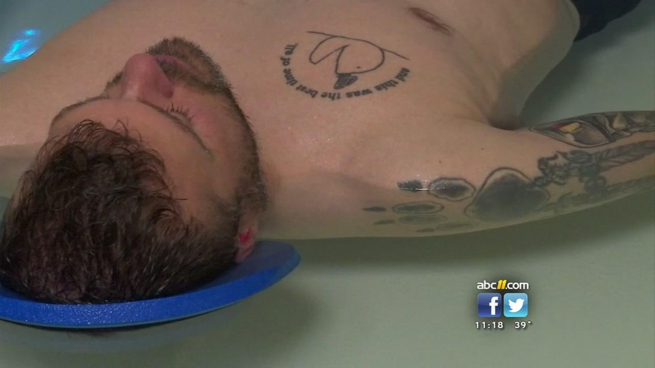 New relaxation therapy for soldiers and veterans