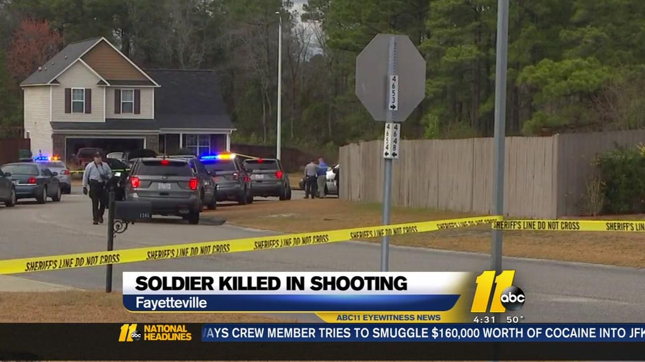 Soldier killed in Fayetteville shooting