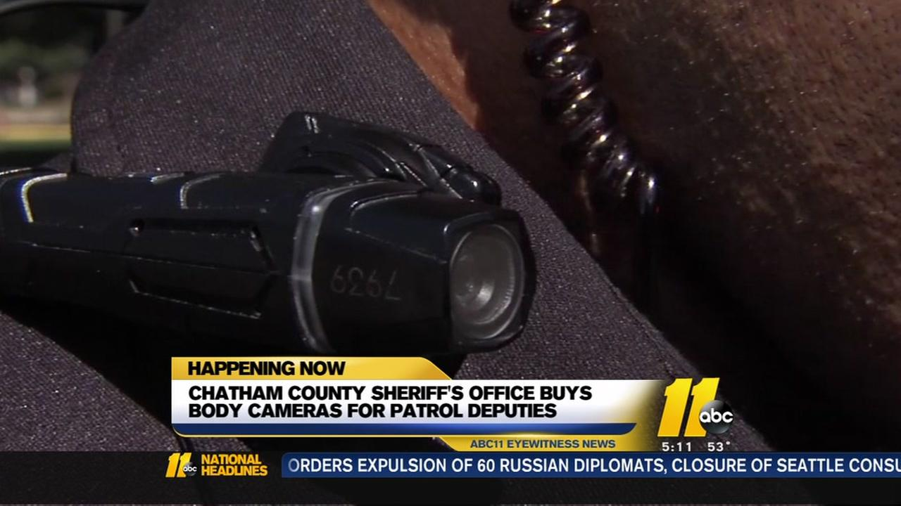 Chatham County Sheriffs Office purchases body cameras