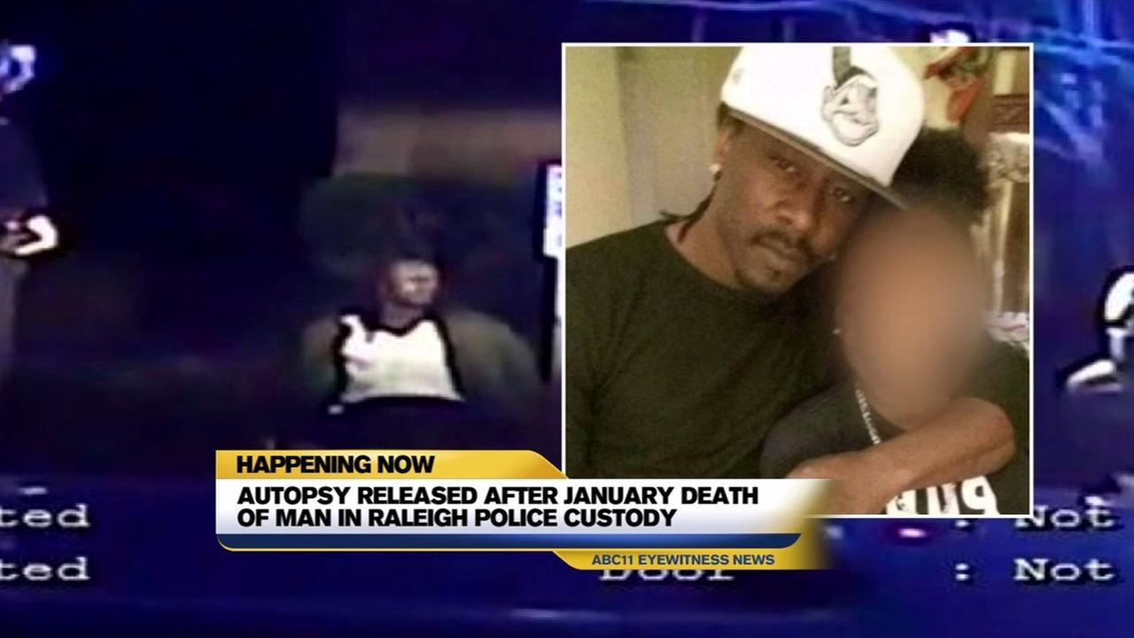 Autopsy released in mans in-custody death