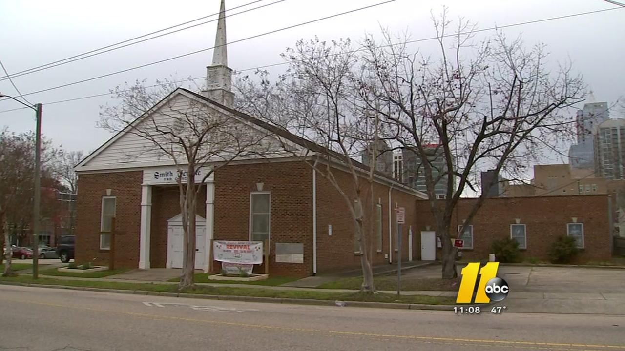 Shockwaves as historically black church up for sale