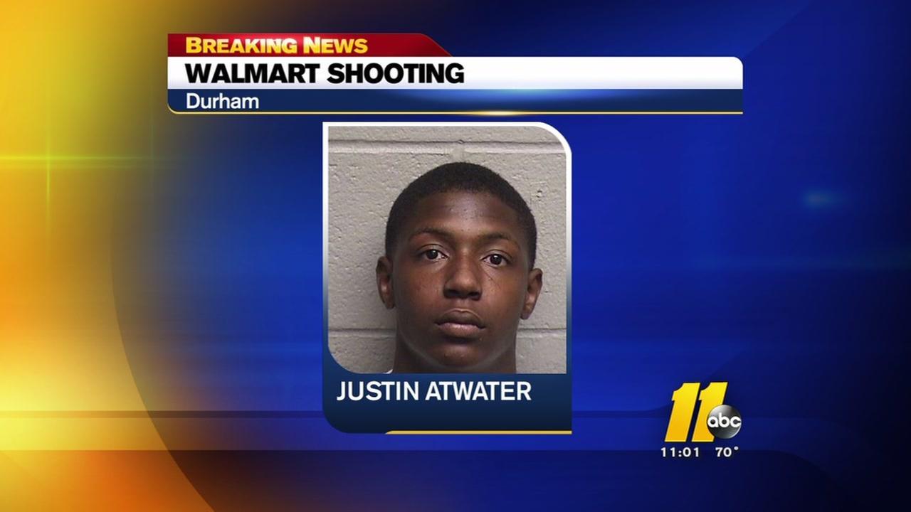 Walmart shooting suspect under arrest
